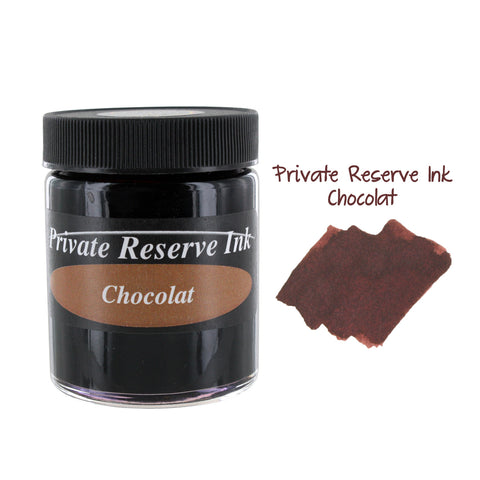 Private Reserve Fountain Pen Bottled Ink, 50ml - Chocolat Brown
