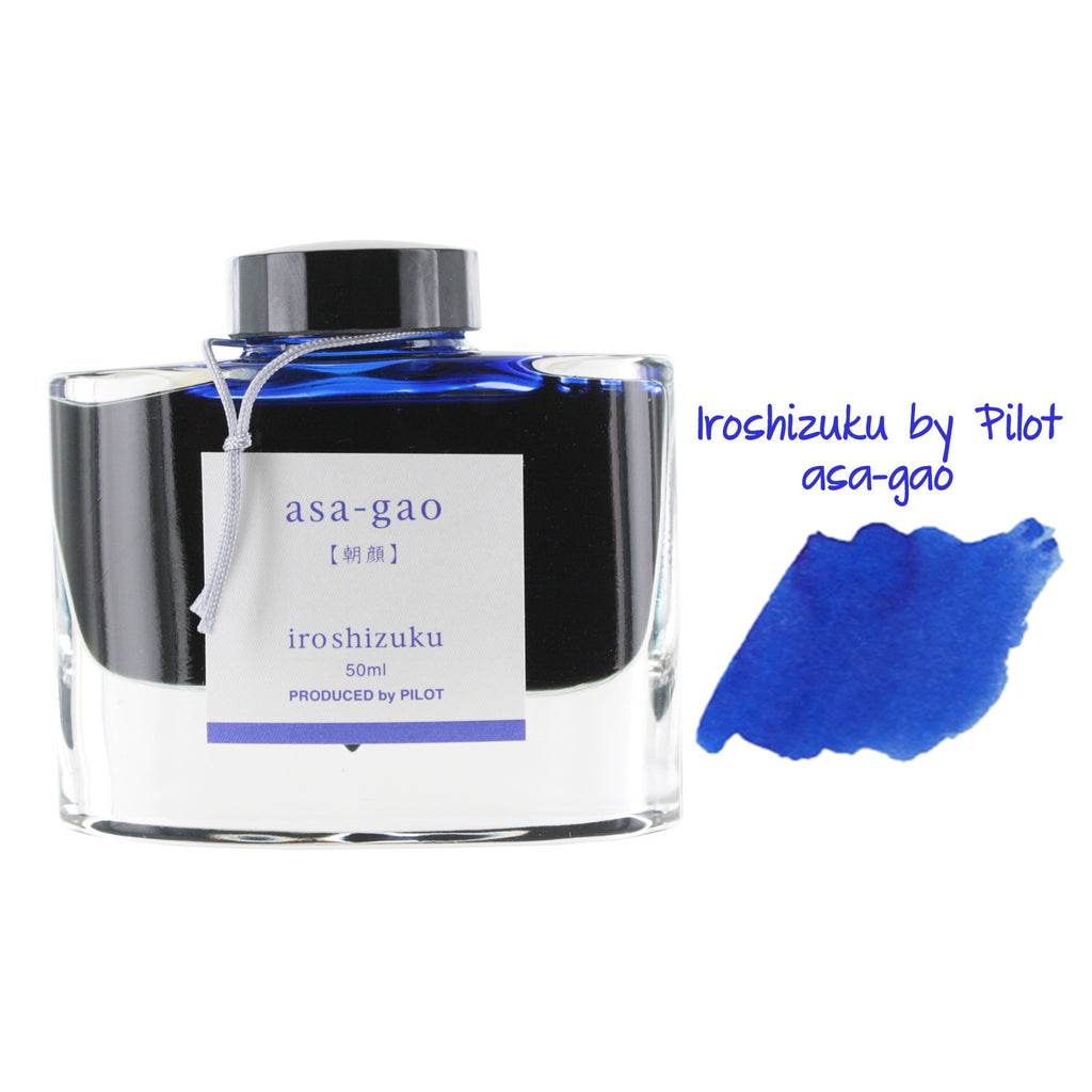 Pilot Iroshizuku Bottled Fountain Pen Ink, 50ml - Asa-Gao