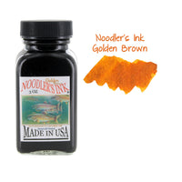 Noodler's Ink Fountain Pen Bottled Ink, 3oz - Golden Brown