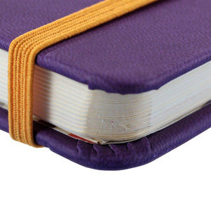 Rhodia Rhodiarama A5 Webnotebook, 5.5 in x 8.25, Lined - Purple (118750)