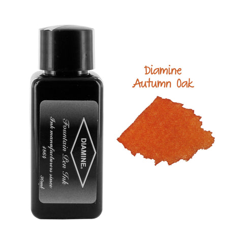 Diamine Fountain Pen Bottled Ink, 30ml - Autumn Oak