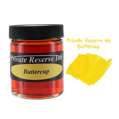 Private Reserve Fountain Pen Bottled Ink, 50ml - Buttercup Yellow