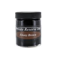 Private Reserve Fountain Pen Bottled Ink, 50ml - Ebony Brown