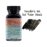 Noodler's Ink Fountain Pen Bottled Ink, 3oz - Eel Polar Black