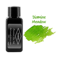 Diamine Fountain Pen Bottled Ink, 30ml - Meadow (Green)