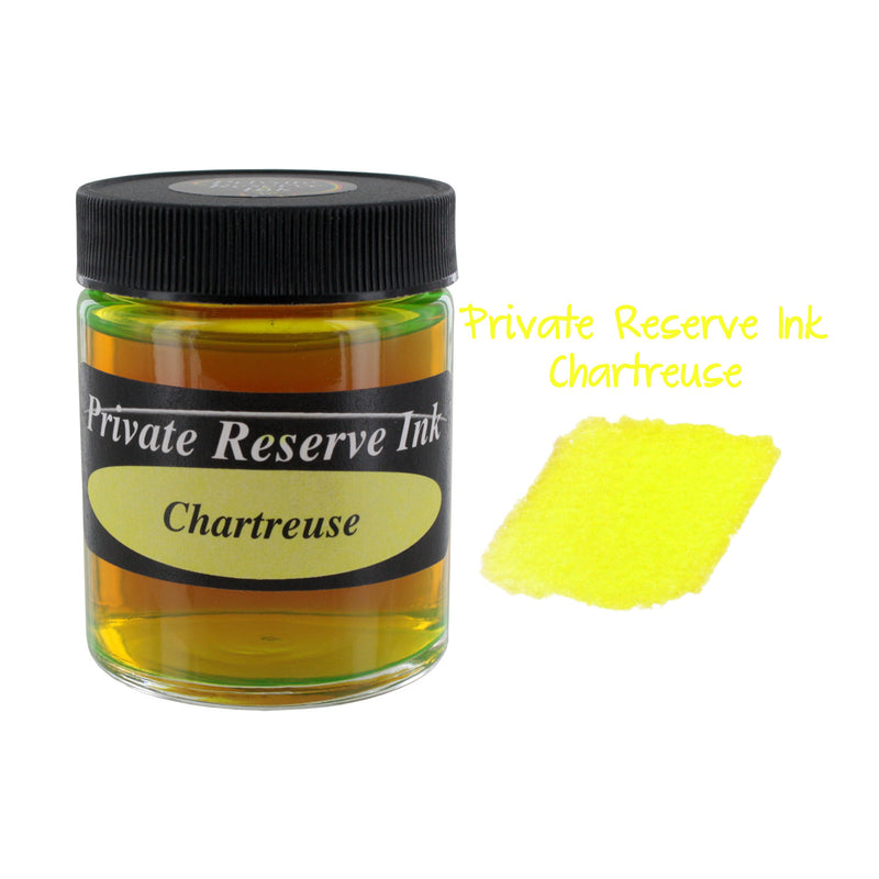 Private Reserve Fountain Pen Bottled Ink, 50ml - Chartreuse