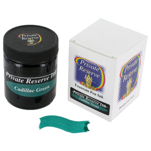 Private Reserve Fountain Pen Bottled Ink, 50ml - Cadillac Green