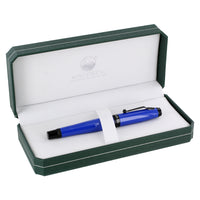 Monteverde Invincia Color Infusion Thunderbird Blue Fountain Pen, Stub Nib (MV41191S)