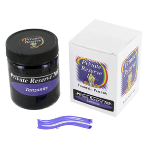 Private Reserve Fountain Pen Bottled Ink, 50ml - Tanzanite Fast Dry