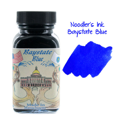 Noodler's Ink Fountain Pen Bottled Ink, 3oz - Baystate Blue