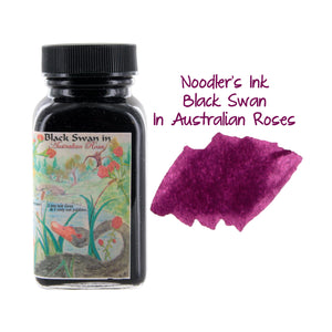 Noodler's Ink Fountain Pen Bottled Ink, 3oz - Black Swan Australian Rose