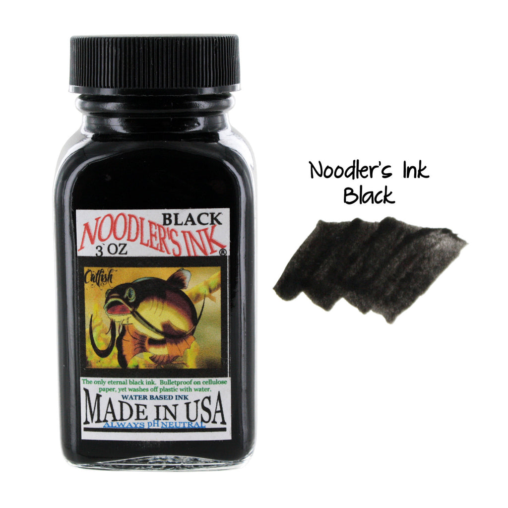 Noodler's Ink Fountain Pen Bottled Ink, 3oz -  Black