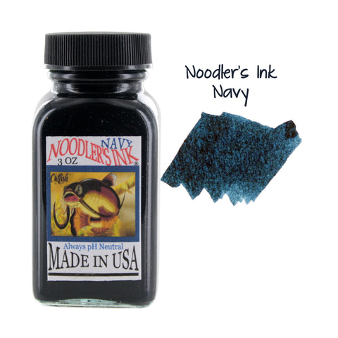 Noodler's Ink Fountain Pen Bottled Ink, 3oz - Navy