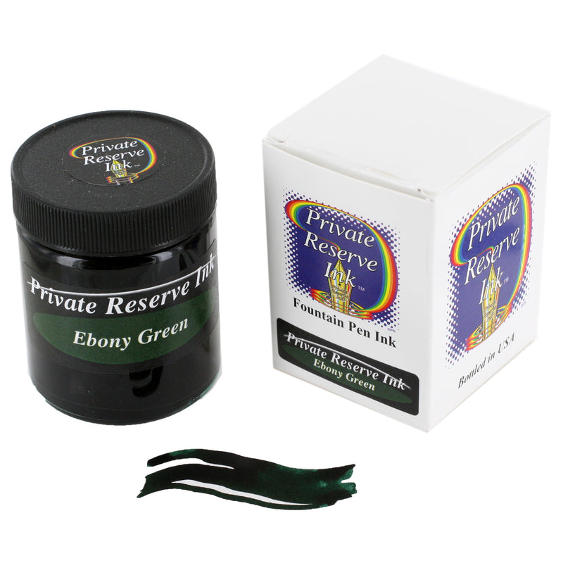Private Reserve Fountain Pen Bottled Ink, 50ml - Ebony Green