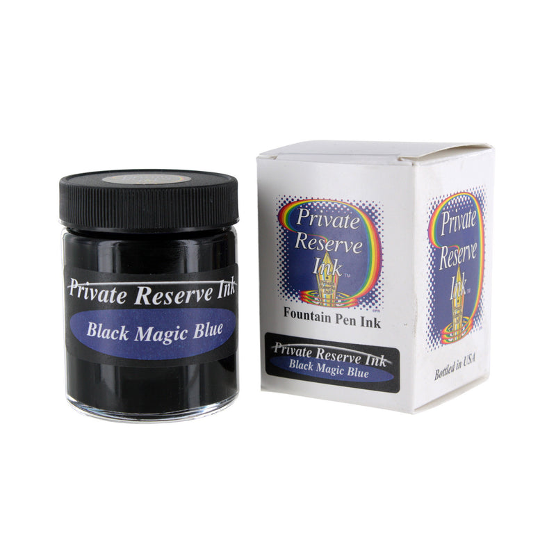 Private Reserve Fountain Pen Bottled Ink, 50ml - Black Magic Blue