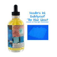 Noodler's Ink Fountain Pen Bottled Ink w/ Eyedropper, 4.5 oz. - Blue Ghost