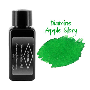 Diamine Fountain Pen Bottled Ink, 30ml - Apple Glory (Light Green)