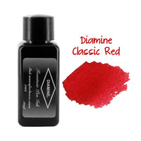 Diamine Fountain Pen Bottled Ink, 30ml - Classic Red