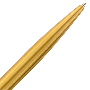 Parker Vector Gold Plated Gold Trim Retractable Ballpoint Pen