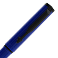 Parker Beta Standard Blue with Black Trim Fountain Pen - Fine Nib