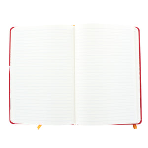 Rhodia Rhodiarama A5 Webnotebook, 5.5 in x 8.25, Lined - Poppy (118753)