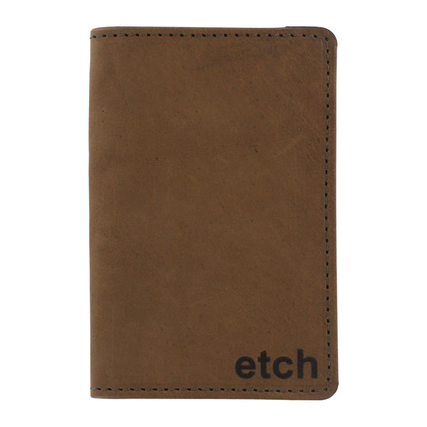 Allegory Etch Field Notes Memo Book Leather Journal Cover