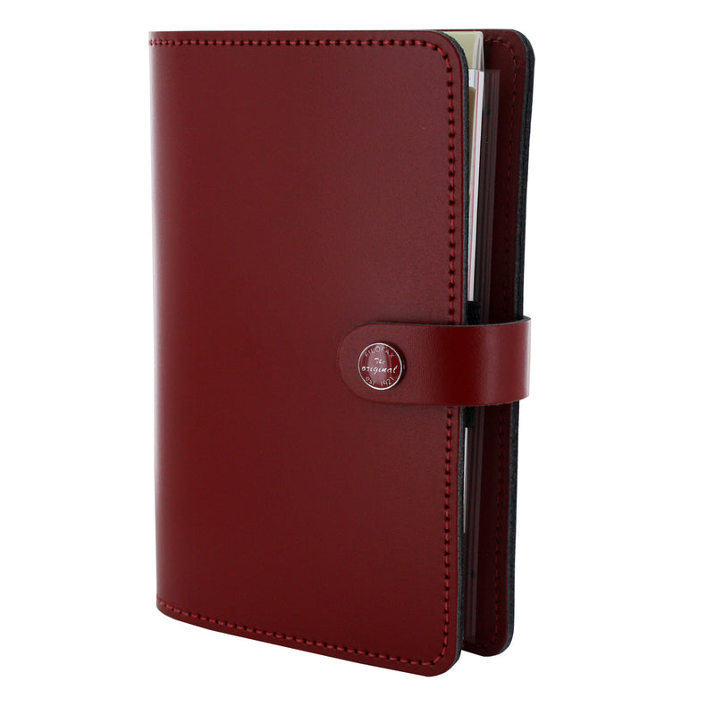 Filofax The Original Personal Organizer, 6.75 x 3.75 -  Pillarbox Red