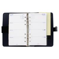 Filofax The Original Personal Organizer, 6.75 x 3.75 -  Retro Navy
