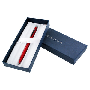 Cross Century Click Matte Red Rolling Gel Ink Ballpoint Pen