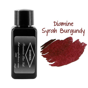 Diamine Fountain Pen Bottled Ink, 30ml - Syrah (Burgundy)