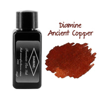 Diamine Fountain Pen Bottled Ink, 30ml - Ancient Copper