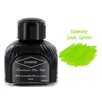 Diamine Fountain Pen Bottled Ink, 80ml - Jade Green