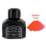 Diamine Fountain Pen Bottled Ink, 80ml - Coral