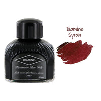 Diamine Fountain Pen Bottled Ink, 80ml - Syrah (Burgundy)