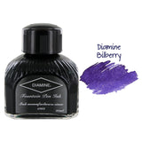 Diamine Fountain Pen Bottled Ink, 80ml - Bilberry (Purple)