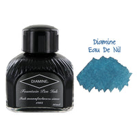 Diamine Fountain Pen Bottled Ink, 80ml - Eau De Nil Blue (Teal)