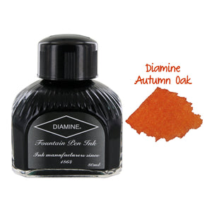 Diamine Fountain Pen Bottled Ink, 80ml - Autumn Oak