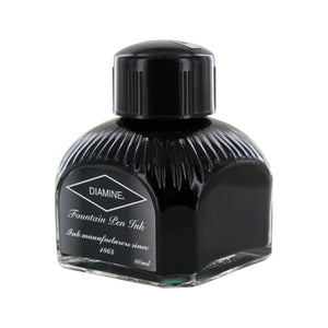 Diamine Fountain Pen Bottled Ink, 80ml - Quartz Black