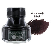 Monteverde Fountain Pen Ink Bottle, 90ml - Black