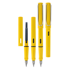 Lamy Safari Shiny Yellow Fountain Pen - Fine Nib