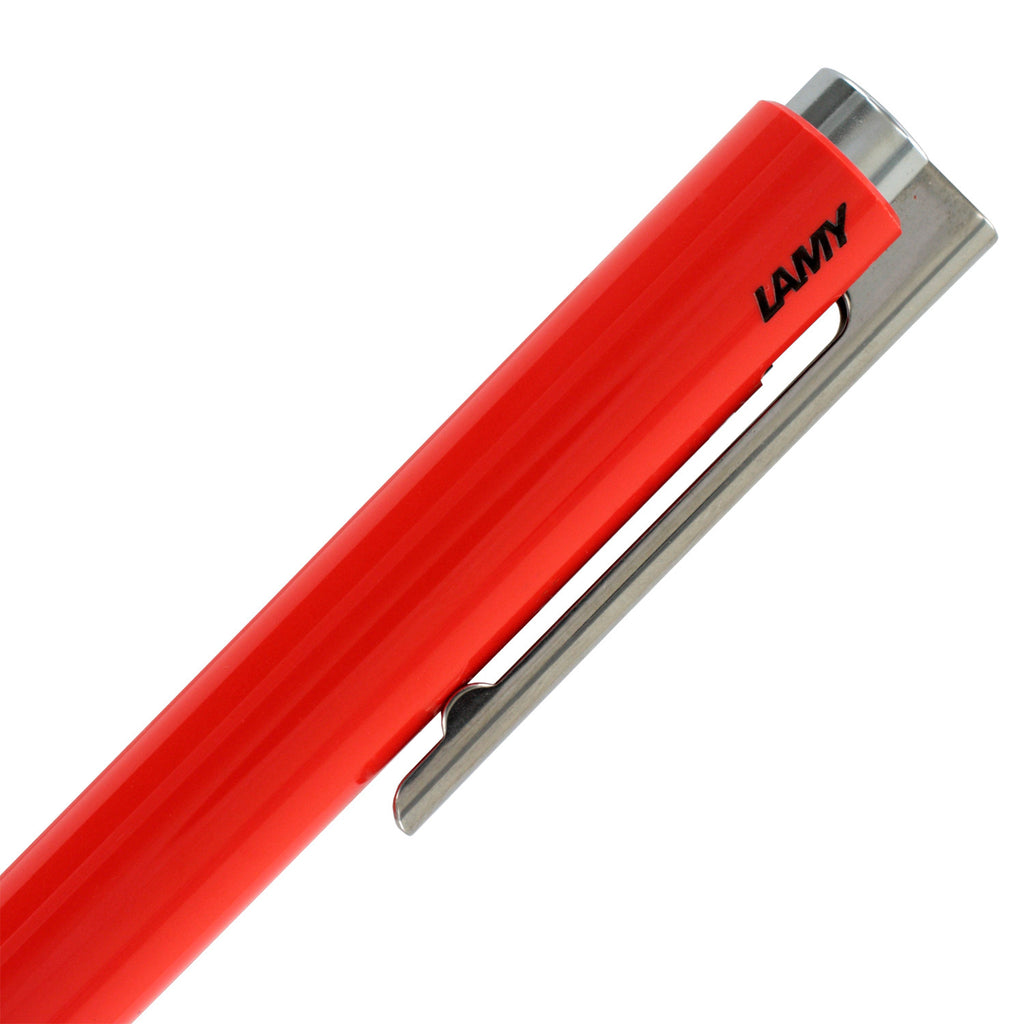 Lamy Logo M+ Retractable Ballpoint Pen - Special Edition Coral