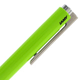 Lamy Logo M+ Retractable Ballpoint Pen - Special Edition Lime Green