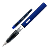 Lamy Al-Star Ocean Blue Fountain Pen - Fine Nib