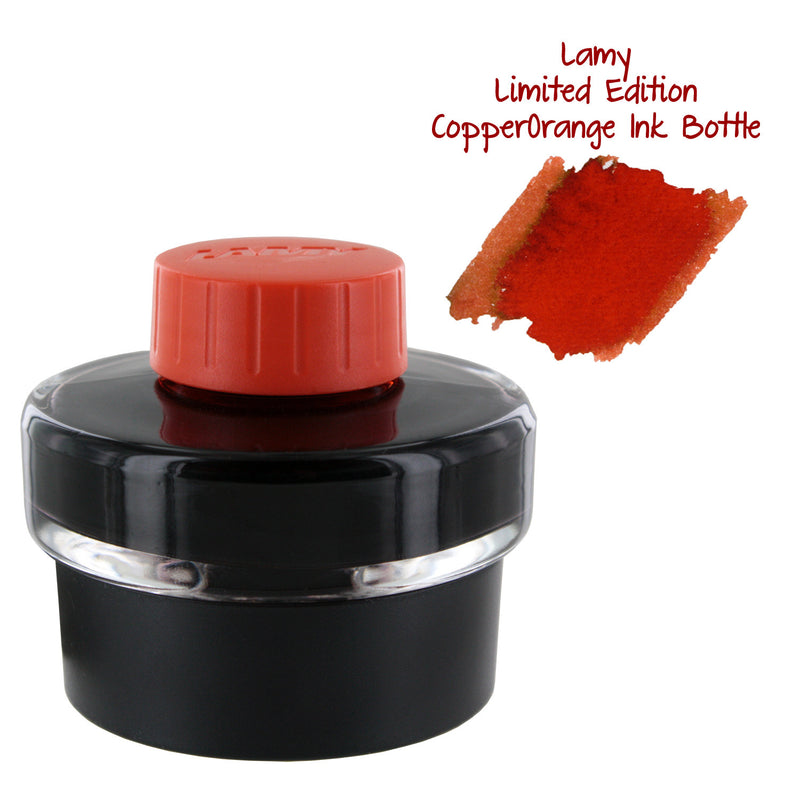 Lamy T52 Fountain Pen Bottled Ink, 50ml - Copperorange