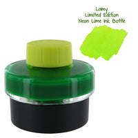 Lamy T52 Fountain Pen Bottled Ink, 50ml - Neon Lime