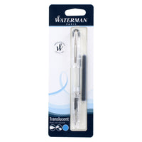 Waterman Kultur Demonstrator Fountain Pen, Fine Point, Crystal