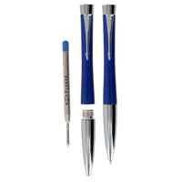 Parker Urban Fashion Blue Chrome Trim Retractable Ballpoint Pen