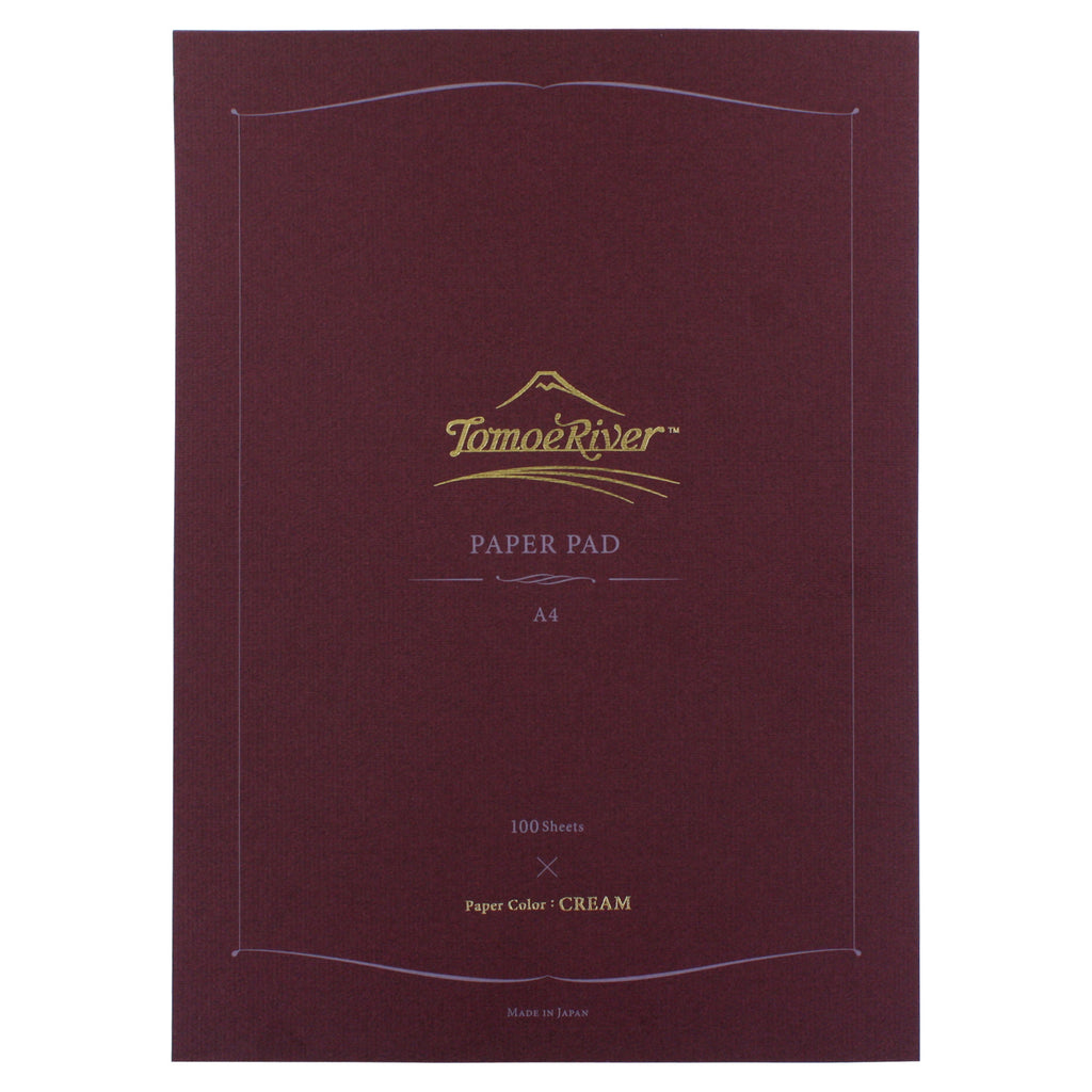 Tomoe River Stationery Tablet Paper, 100 Sheets, Cream (8.00 X 11.50)