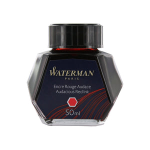 Waterman Audacious Red Fountain Pen Bottled Ink For Fountain Pens