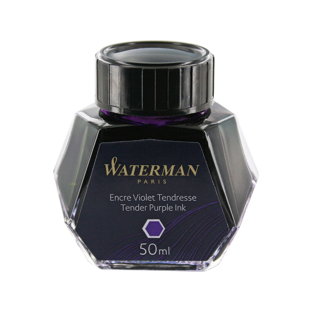 Waterman Tender Purple Fountain Pen Bottled Ink For Fountain Pens